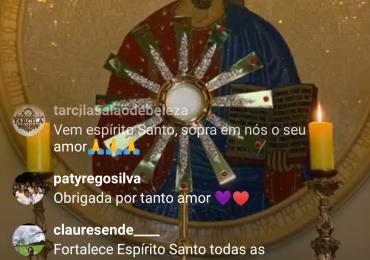 MFC Arapongas: Adoração ao Santíssimo