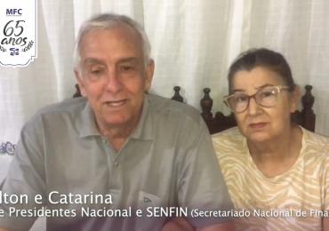 MFC Brasil: Mensagem dos Vice Presidentes Nacional e SENFIN aos 65 anos do MFC no Brasil