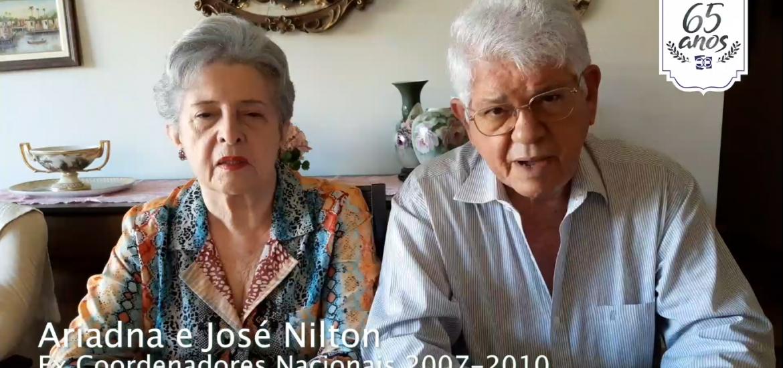 MFC Brasil: Mensagem dos Ex Coordenadores Nacionais (2007-2010) aos 65 anos do MFC no Brasil