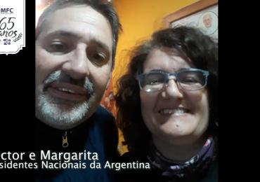 MFC Brasil: Mensagem dos Presidentes Nacionais da Argentina aos 65 anos do MFC no Brasil