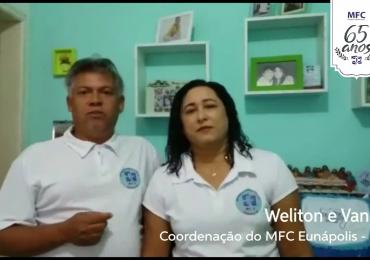 MFC Brasil Mensagem do MFC Bahia aos 65 anos do MFC no Brasil