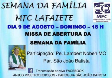 MFC Conselheiro Lafaiete: Semana da Família
