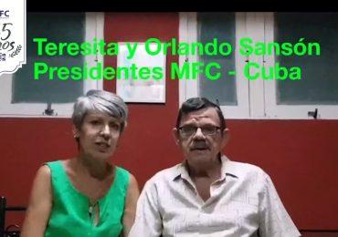 MFC Brasil: Mensagem dos Presidentes do MFC Cuba aos 65 anos do MFC no Brasil