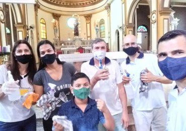 MFC Santo Antonio da Platina: Missa