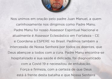 MFC Nacional: Oração por Padre Manu