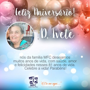 Post AniversarioIvete