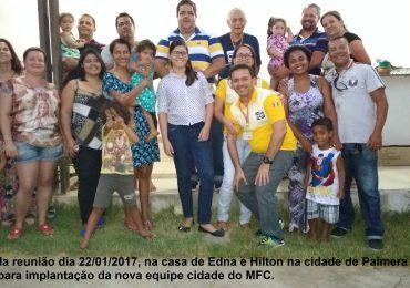 Implantação de nova Equipe Cidade em Alagoas