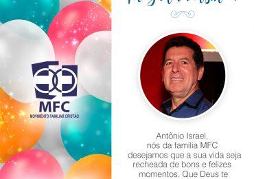 Parabéns, Antônio Israel!