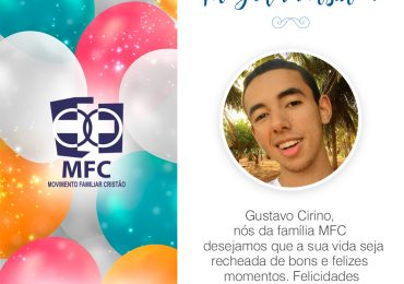 Parabéns, Gustavo Cirino!
