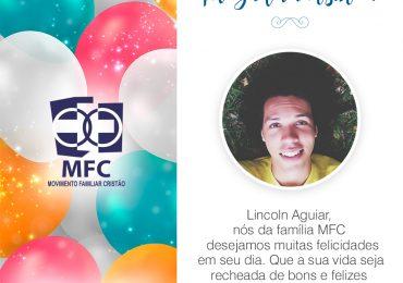Parabéns, Lincoln Aguiar!