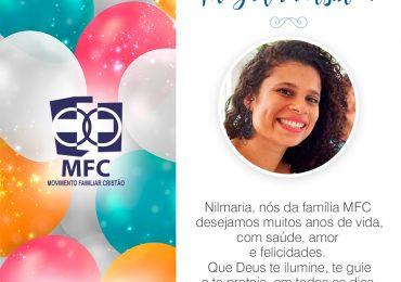 Parabéns, Nilmaria!