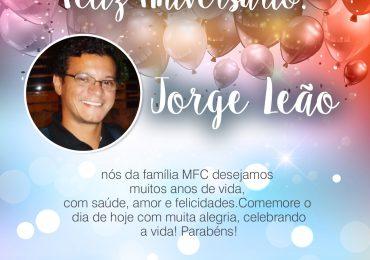 Parabéns, Jorge Leão!