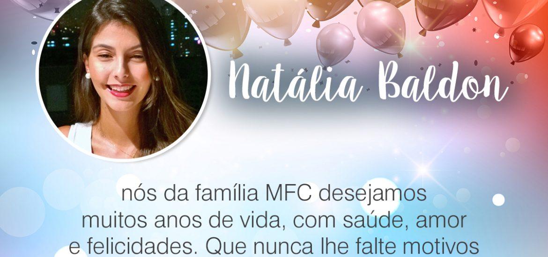 Parabéns, Natália Baldon!