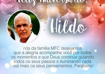 Parabéns, Hildo!
