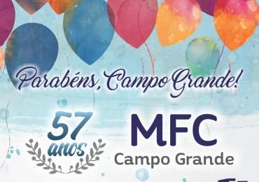 Parabéns, MFC Campo Grande-MS