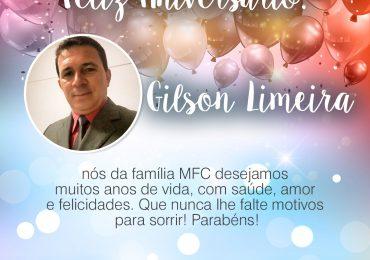 Parabéns, Gilson Limeira!