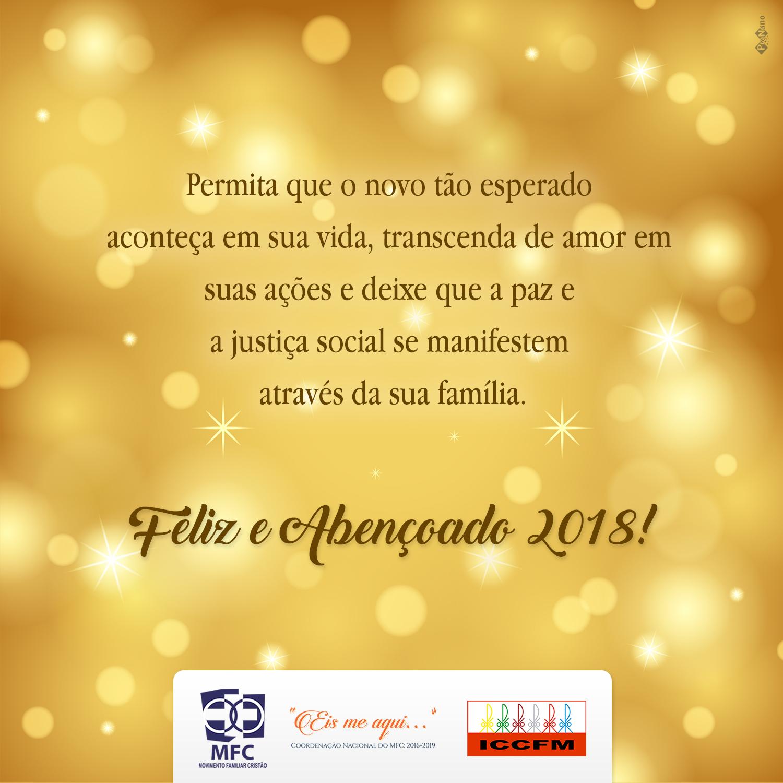 Feliz Ano Novo, MFCistas!
