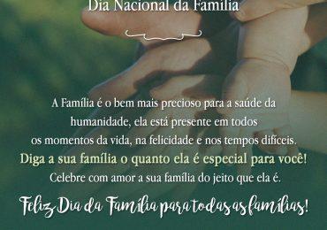 08 de Dezembro – Dia Nacional da Família