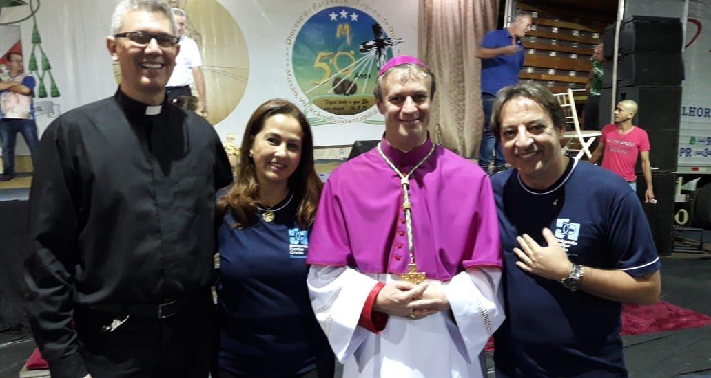 MFC Paranavaí: Acolhida do Novo Bispo Dom Mário Spak