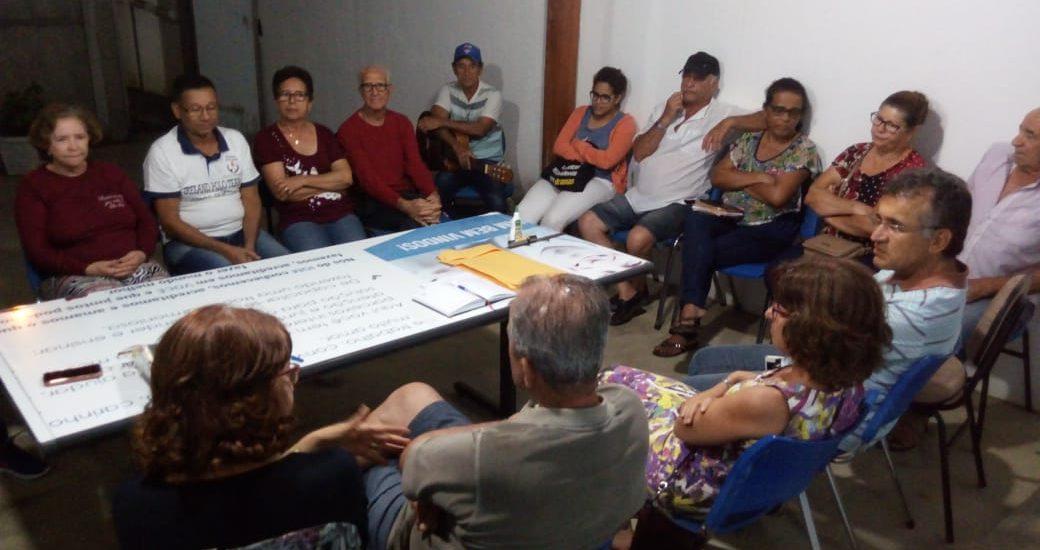 MFC Vitória da Conquista: Reunião da EB Candeias