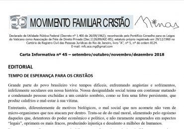 MFC Minas Gerais: Carta Informativa nº 45
