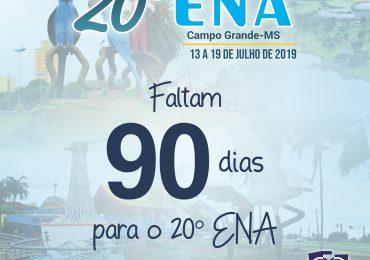 Contagem Regressiva para o 20º ENA