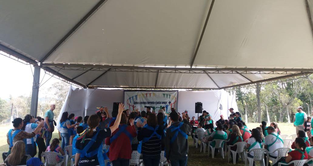 MFC Curiúva: 1ª Gincana das Famílias