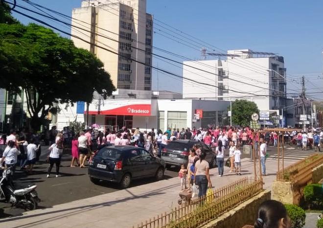 MFC Santo Antonio da Platina: Passeata Outubro Rosa