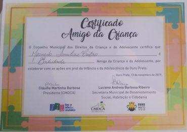 MFC Ouro Preto: Reconhecimento