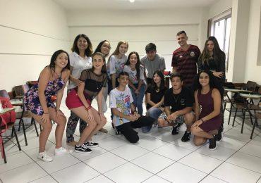 MFC Santo Amaro da Imperatriz: 1° Encontro do primeiro Grupo de Jovens