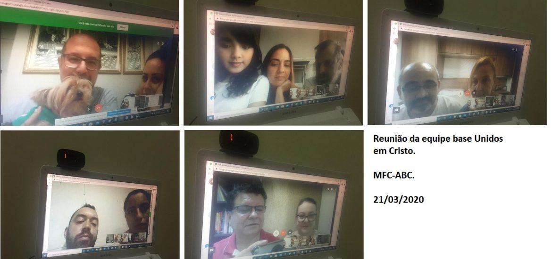 MFC ABC: Reunião Equipe Base Unidos em Cristo