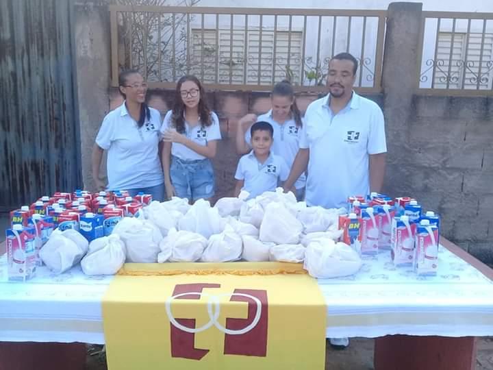 MFC Pitangui: Doação