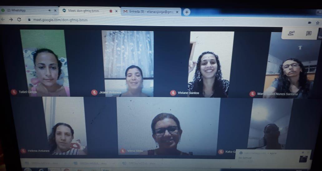 MFC Mamonas: Reunião Virtual