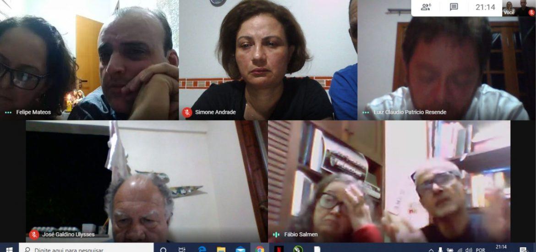 MFC Minas Gerais: Reunião Virtual