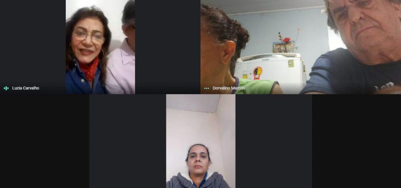 MFC Campo Grande: Reunião Virtual