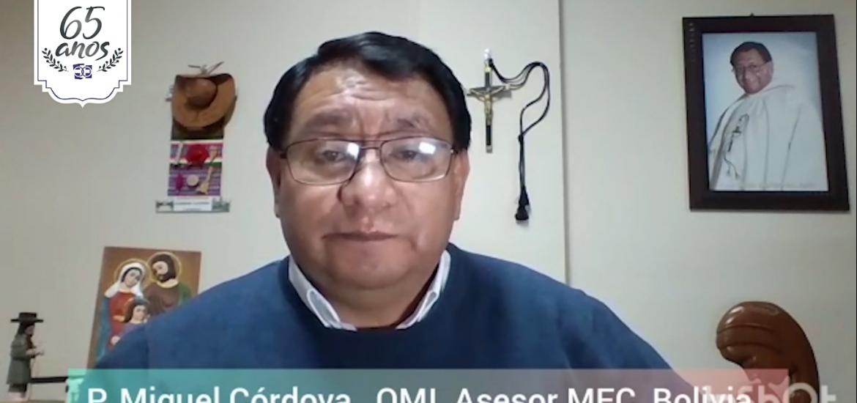 MFC Brasil: Mensagem do P. Miguel Córdova aos 65 anos do MFC no Brasil