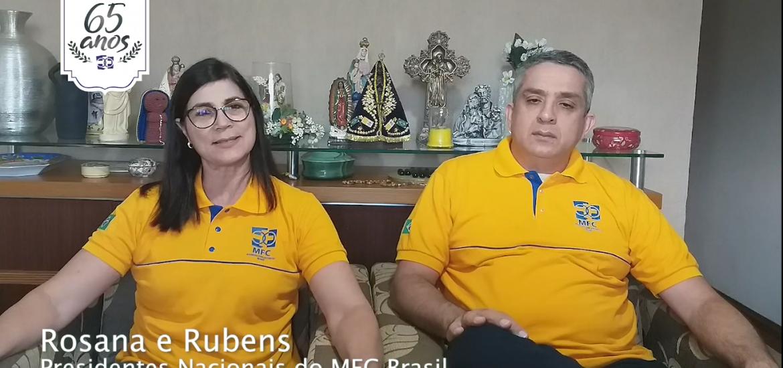 MFC Brasil: Mensagem dos Coordenadores Nacionais