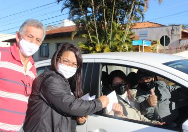 MFC Telêmaco Borba: Entrega dos Adesivos