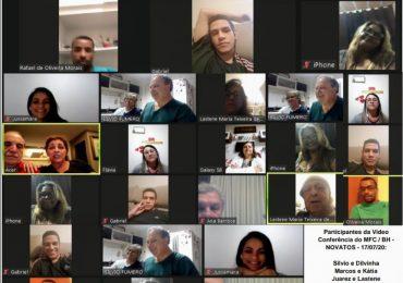 MFC Belo Horizonte: Vídeoconferência com os Novos Mfcistas