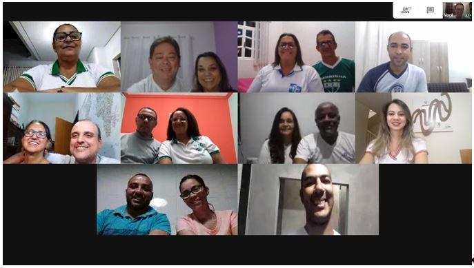 MFC Minas Gerais: Reunião Virtual do E.C.E. Região 3