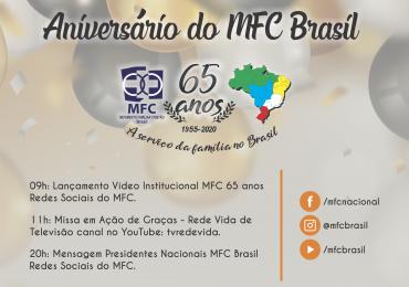 MFC Brasil: Programação 65 anos