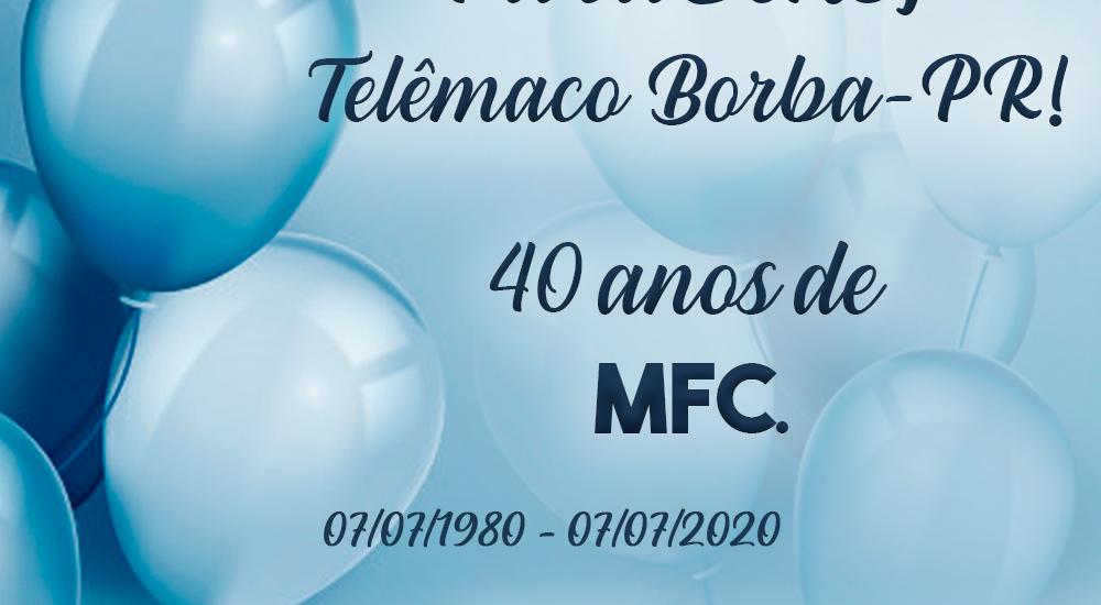 MFC Telêmaco Borba: 40 anos