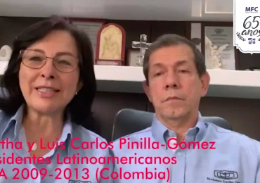 MFC Brasil: Mensagem dos Presidentes Latinoamericanos SPLA (2009-2013) aos 65 anos do MFC no Brasil