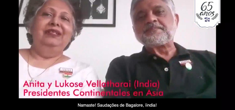 MFC Brasil: Mensagem dos Presidentes Continentais da Ásia aos 65 anos do MFC no Brasil