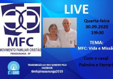 "MFC Pirassununga: Live ""Vida e Missão"""