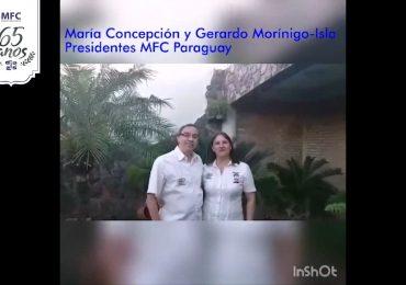 MFC Brasil: Mensagem dos Presidentes Nacionais do MFC Paraguai aos 65 anos do MFC no Brasil