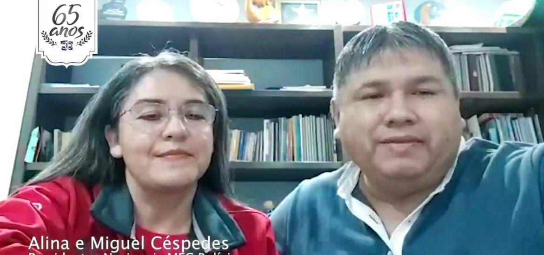 MFC Brasil Mensagem dos Presidentes Nacionais do MFC Bolívia aos 65 anos do MFC no Brasil