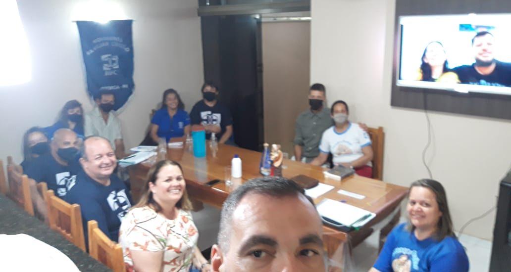 MFC Astorga: 1ª. Reunião Presencial com a Equipe de Coordenação