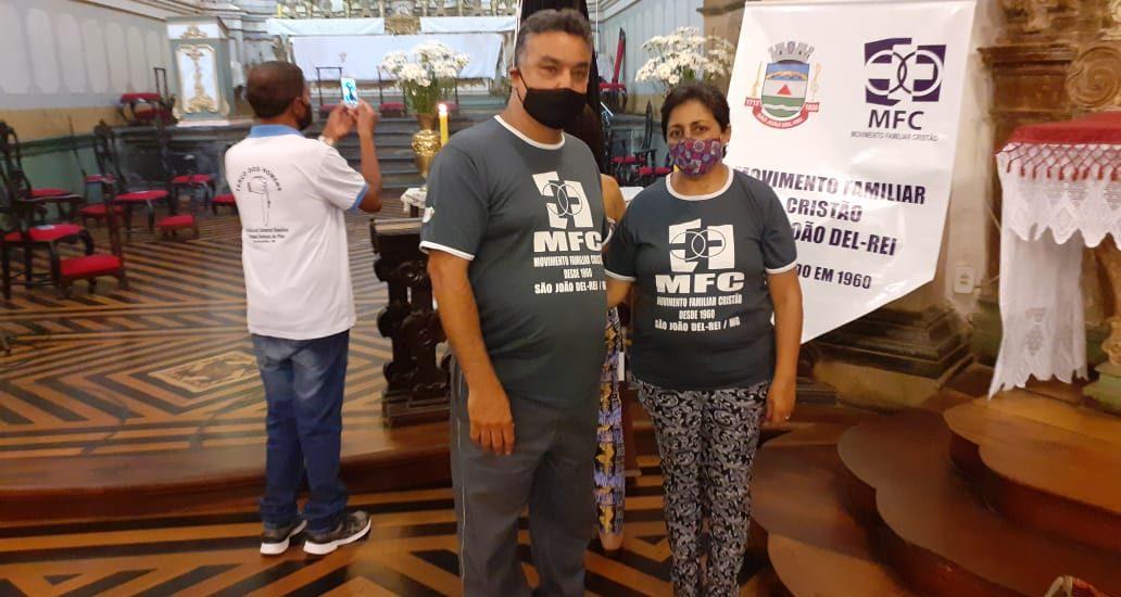 MFC São João Del Rei: Missa dos 65 anos do MFC Brasil