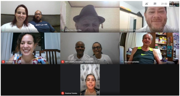 MFC Minas Gerais: Reunião Virtual entre a E.C.E e Regiões 1 e 4